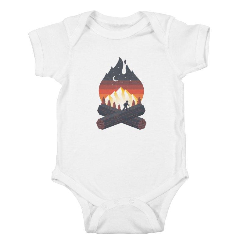 Wildfire Kids Baby Bodysuit by Cody Weiler
