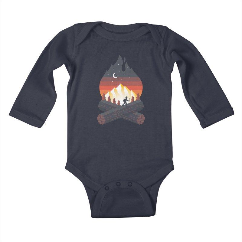 Wildfire Kids Baby Longsleeve Bodysuit by Cody Weiler