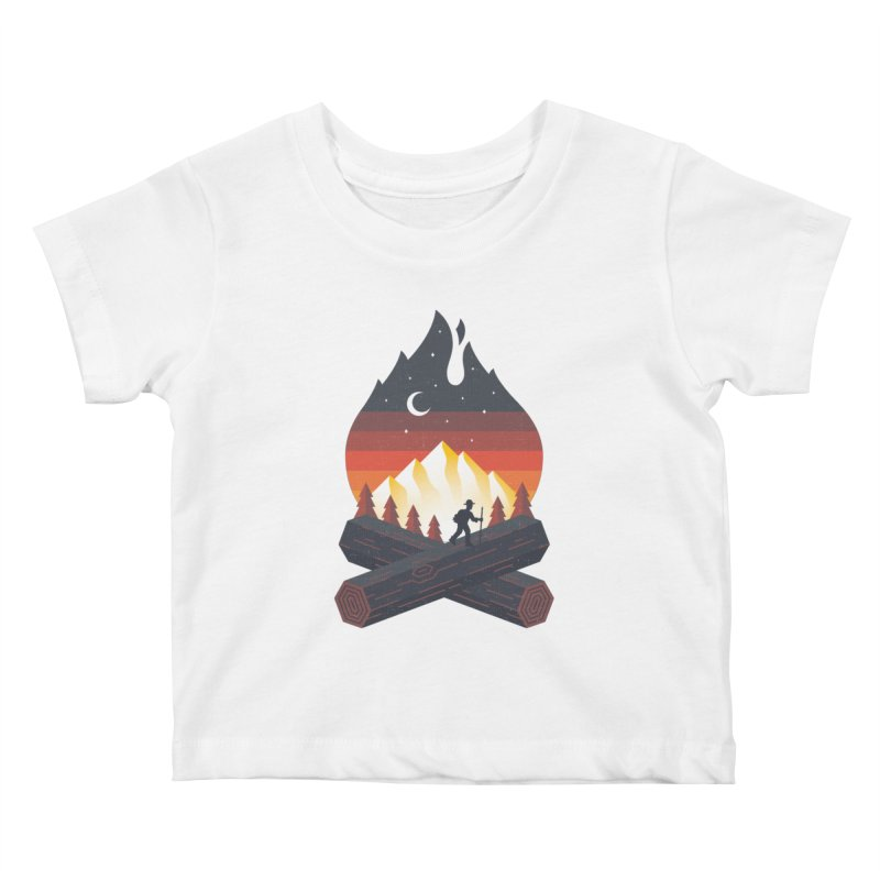 Wildfire Kids Baby T-Shirt by Cody Weiler