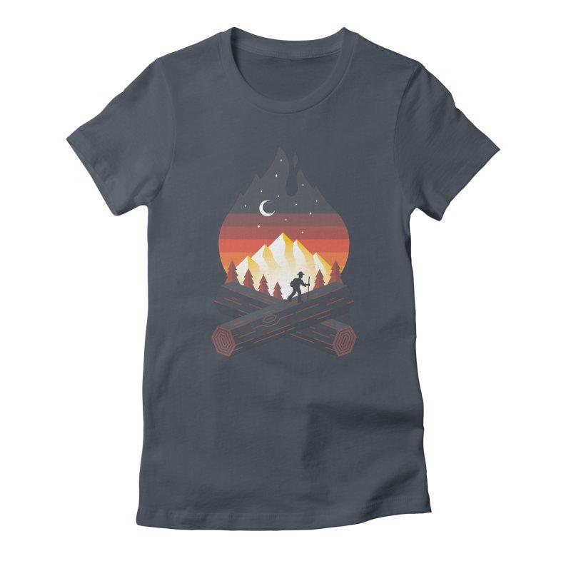 Wildfire Women's T-Shirt by Cody Weiler