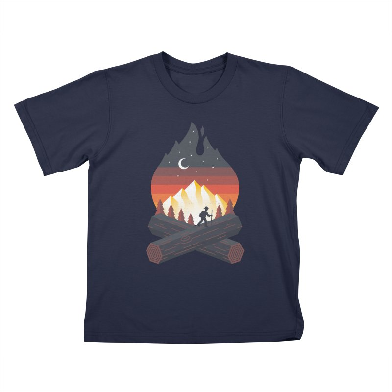 Wildfire Kids T-Shirt by Cody Weiler