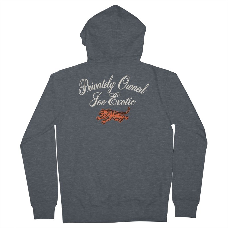 Privately Owned Men's French Terry Zip-Up Hoody by Cody Weiler