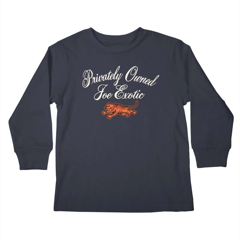 Privately Owned Kids Longsleeve T-Shirt by Cody Weiler