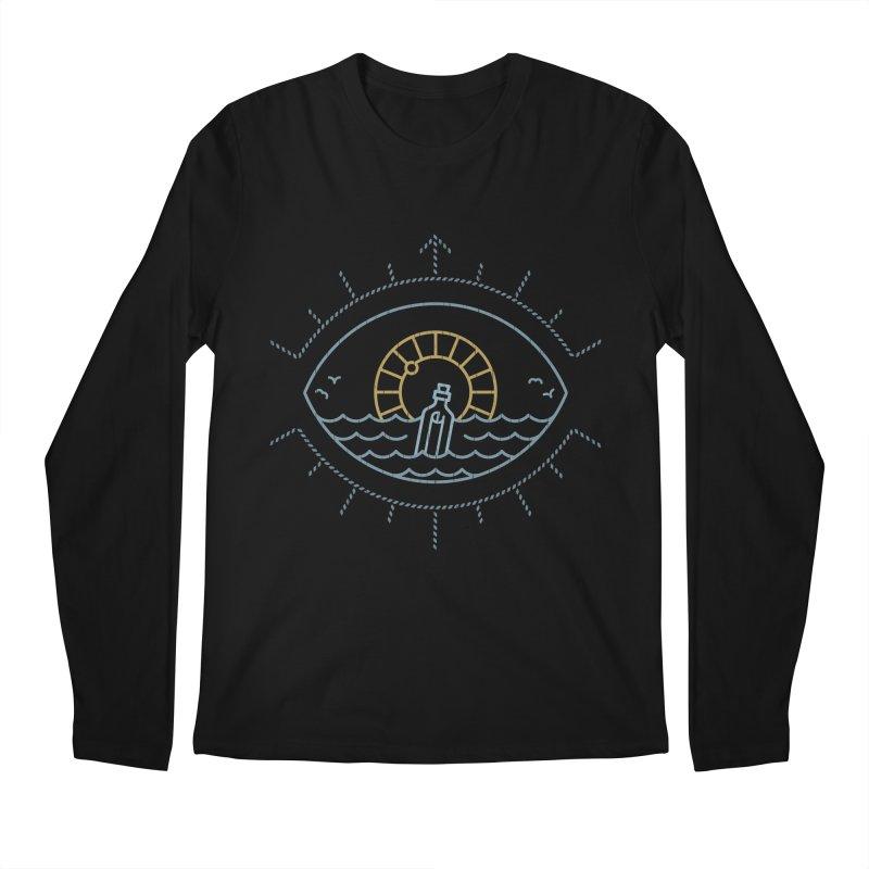 Eye Sea Men's Longsleeve T-Shirt by csw