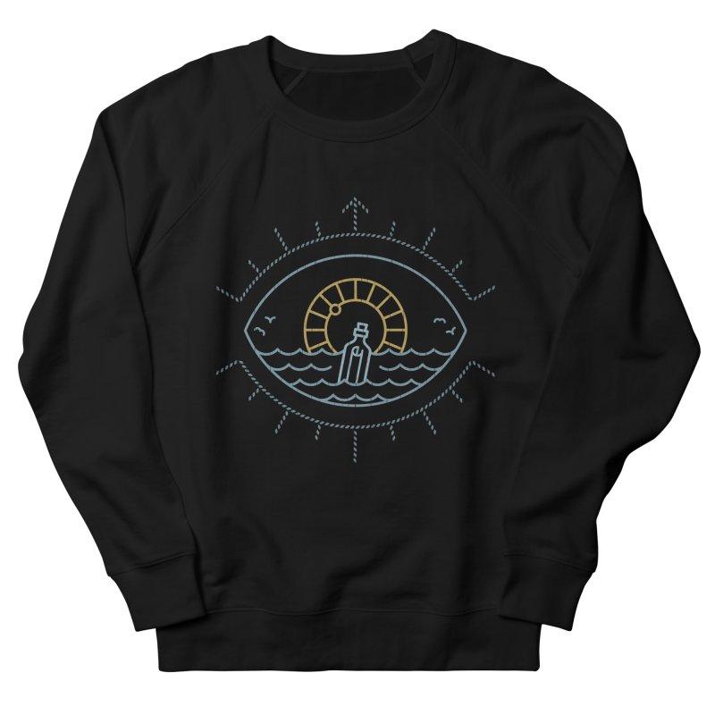 Eye Sea in Men's Sweatshirt Black by csw