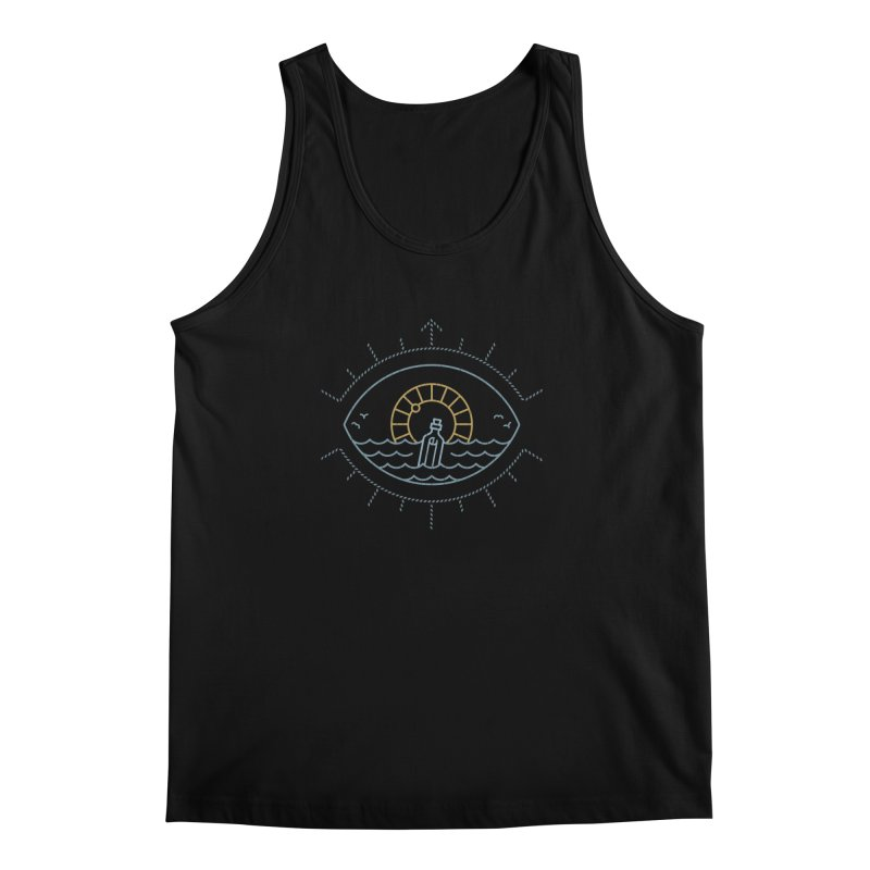 Eye Sea Men's Tank by Cody Weiler