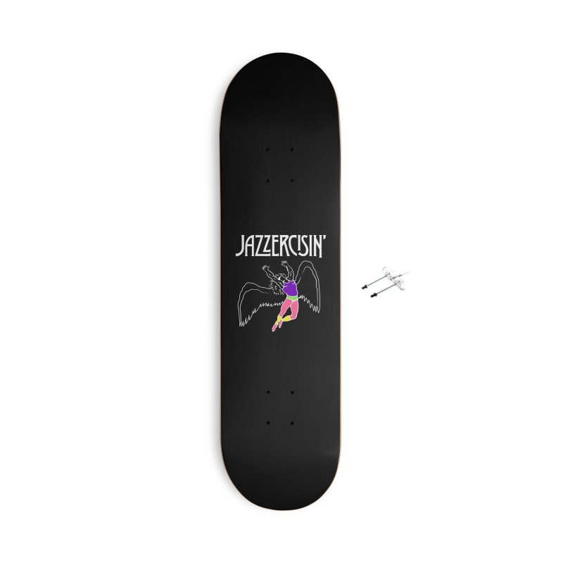 Stairmaster to Heaven Accessories Skateboard by Cody Weiler