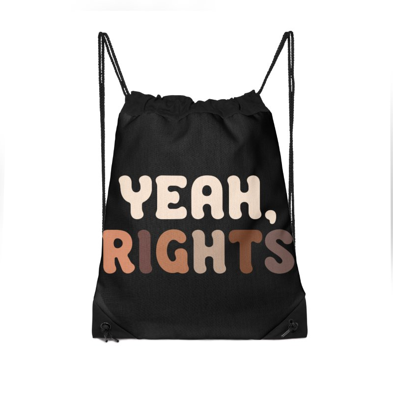 Yeah, Rights II Accessories Bag by Cody Weiler