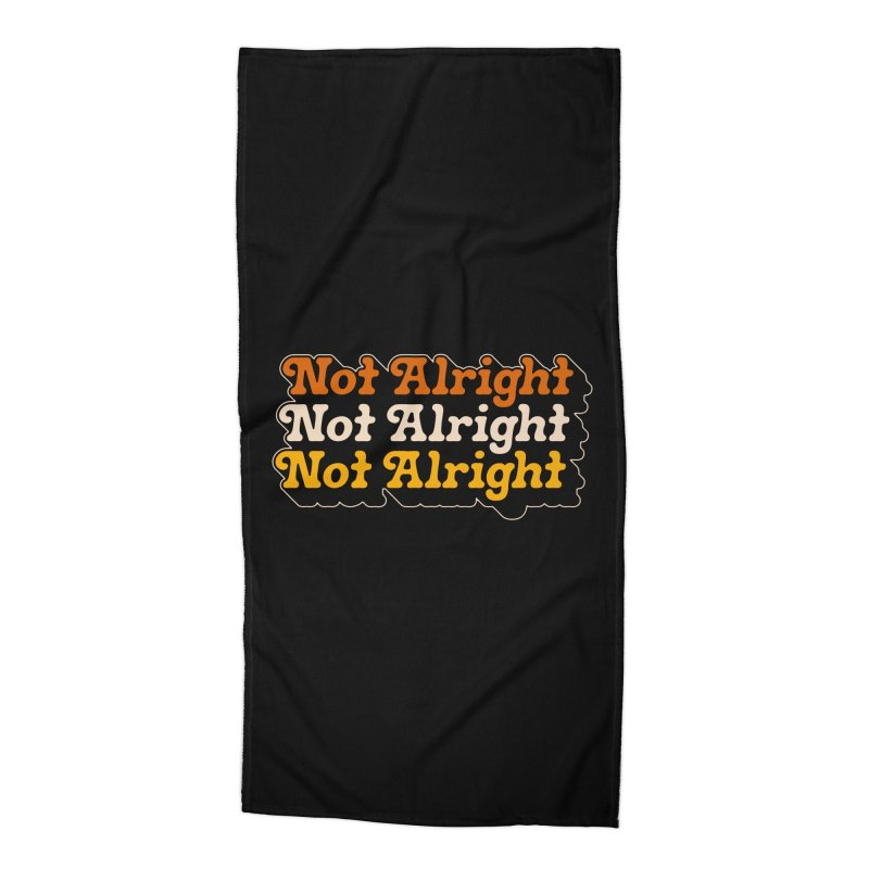 Distressed & Confused Accessories Beach Towel by Cody Weiler