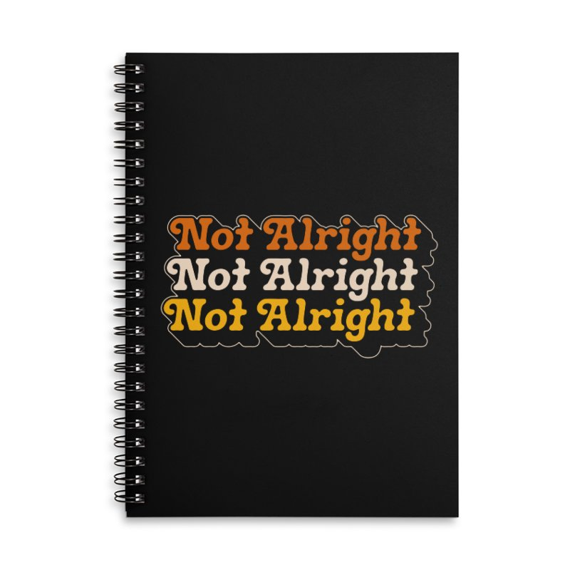 Distressed & Confused Accessories Notebook by Cody Weiler