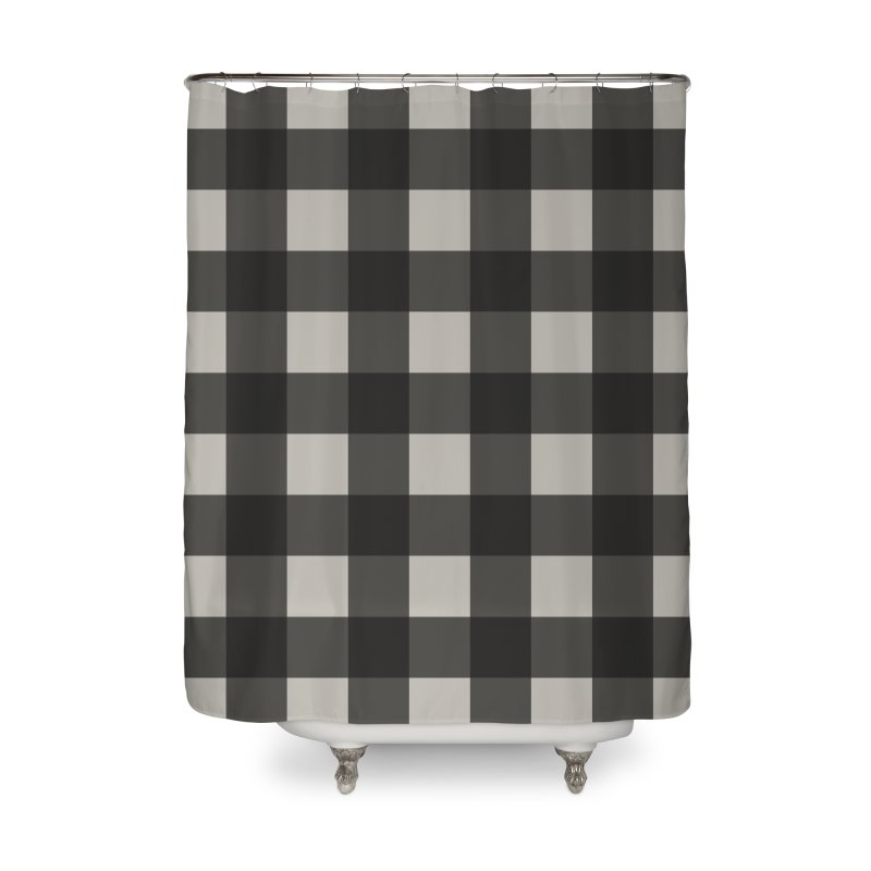 Gingham Home Shower Curtain by Cody Weiler