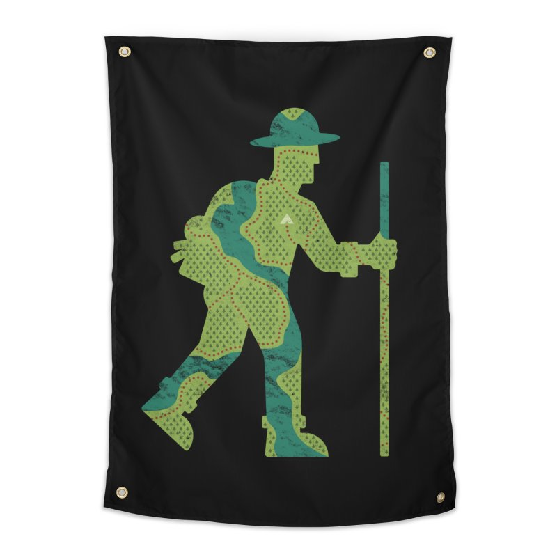 The Outdoorsman Home Tapestry by csw