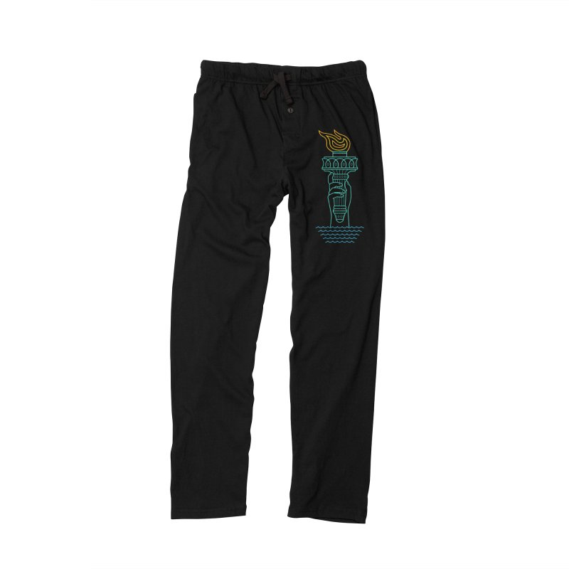 Rising Tide Men's Lounge Pants by csw
