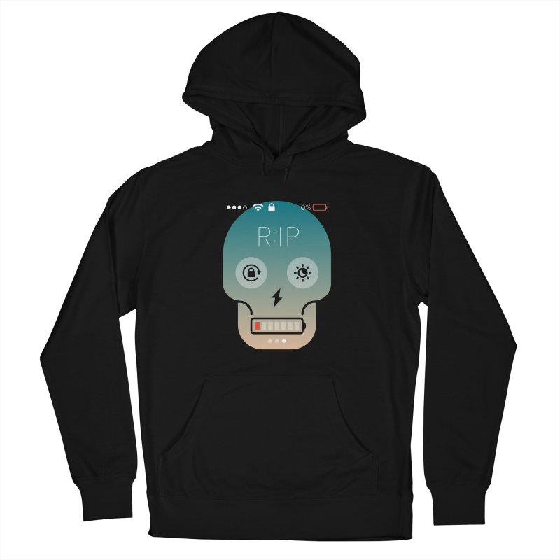 Sorry, my phone died. Women's Pullover Hoody by csw