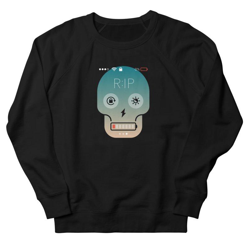 Sorry, my phone died. Women's Sweatshirt by csw