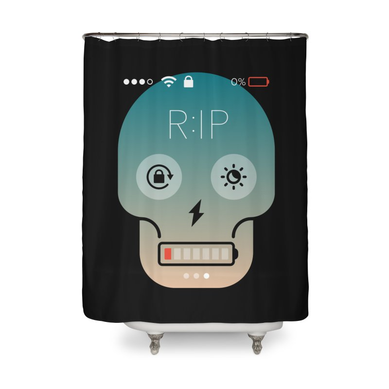 Sorry, my phone died. Home Shower Curtain by csw