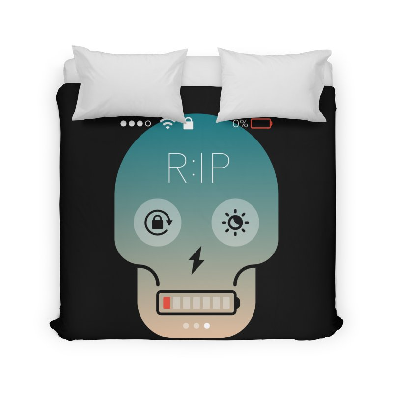 Sorry, my phone died. Home Duvet by csw