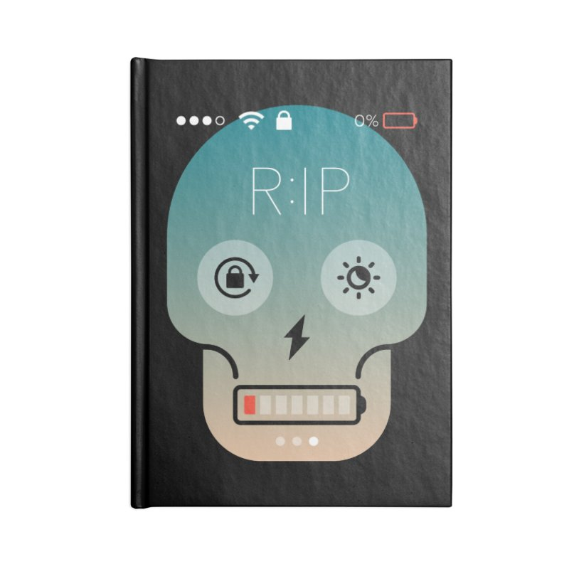 Sorry, my phone died. Accessories Notebook by csw