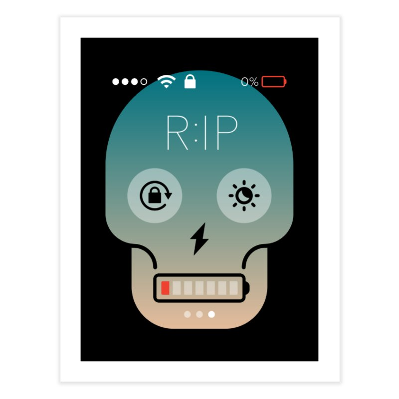 Sorry, my phone died. Home Fine Art Print by csw