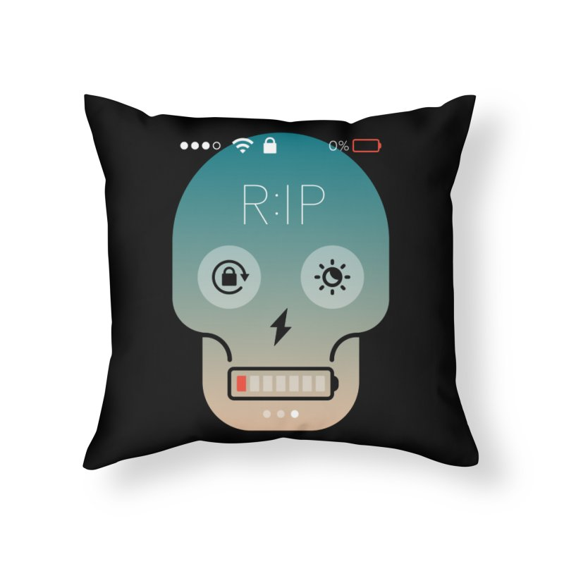 Sorry, my phone died. Home Throw Pillow by csw