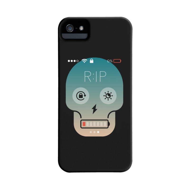 Sorry, my phone died. Accessories Phone Case by csw