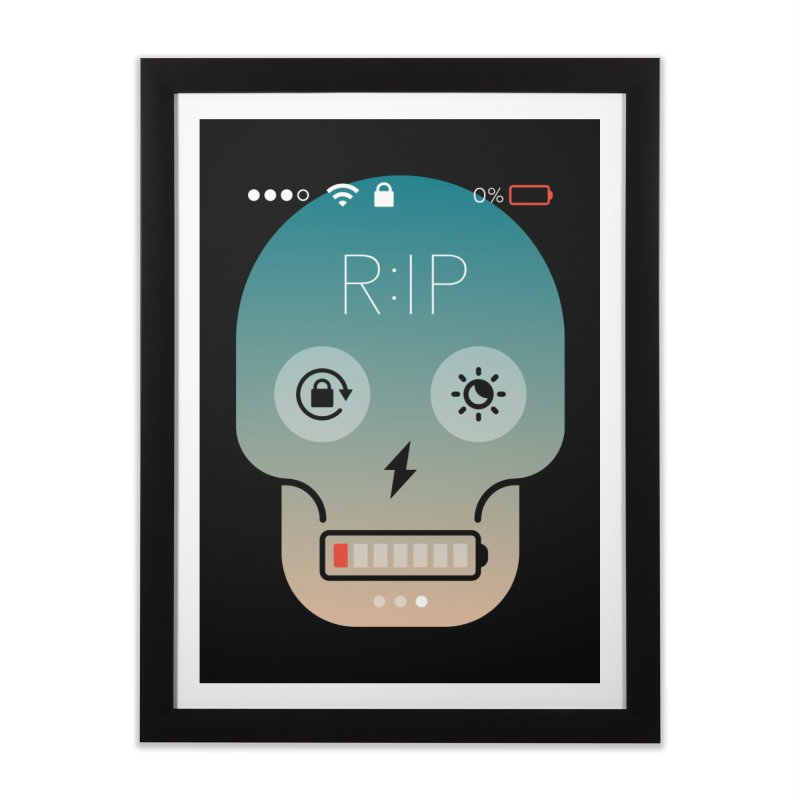 Sorry, my phone died. Home Framed Fine Art Print by csw