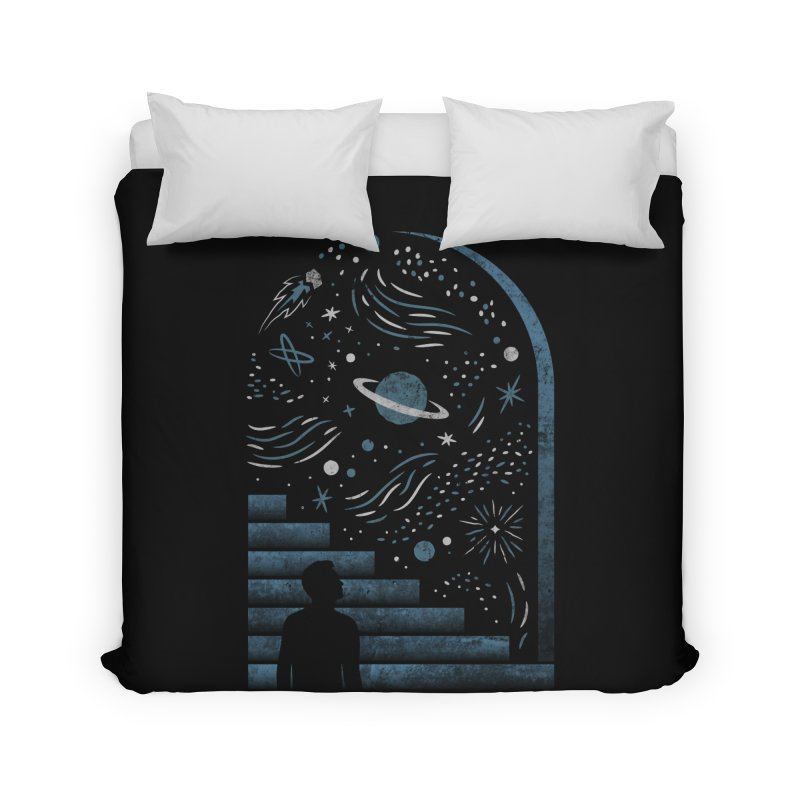 Open Space Home Duvet by csw