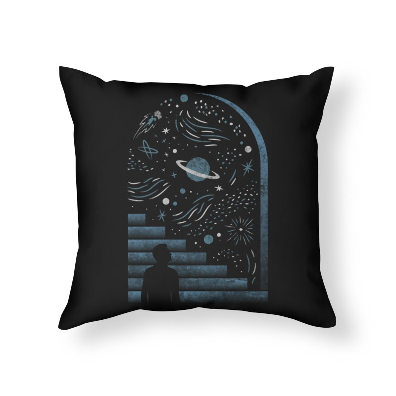 Open Space Home Throw Pillow by csw