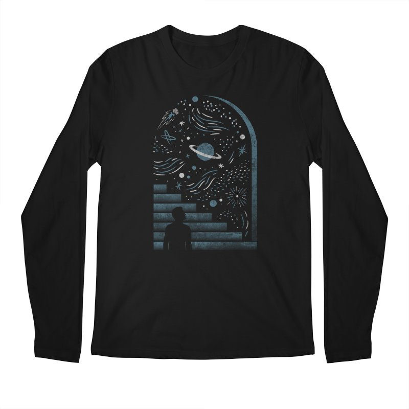 Open Space Men's Longsleeve T-Shirt by csw