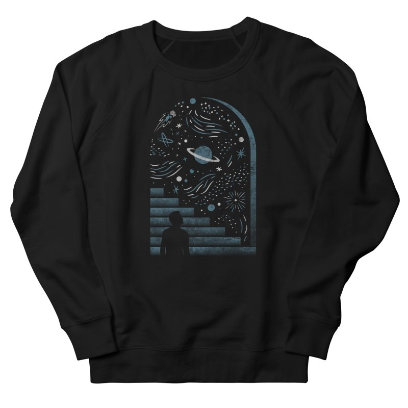Open Space Men's Sweatshirt by csw