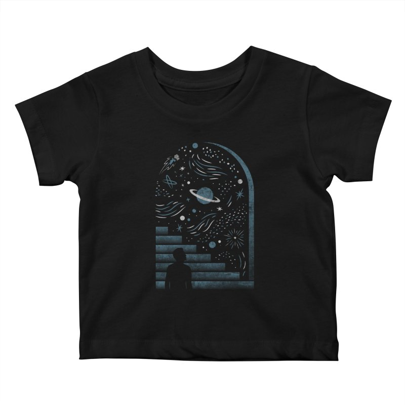 Open Space Kids Baby T-Shirt by csw
