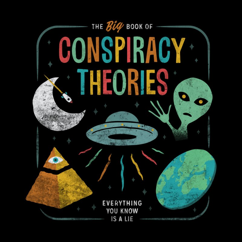 Conspiracy Theories Accessories Bag by Cody Weiler