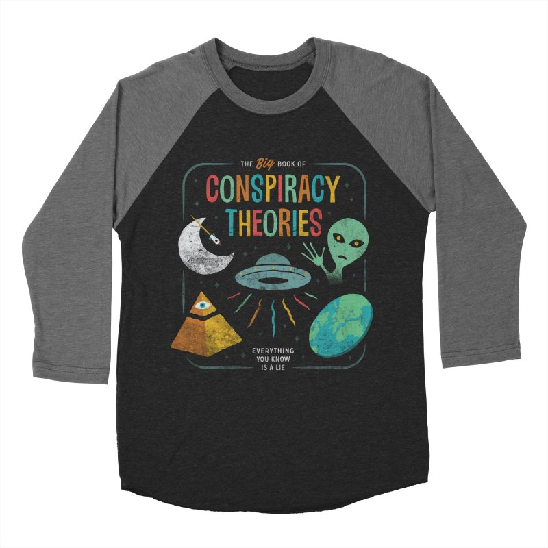 Conspiracy Theories Men's Baseball Triblend T-Shirt by csw