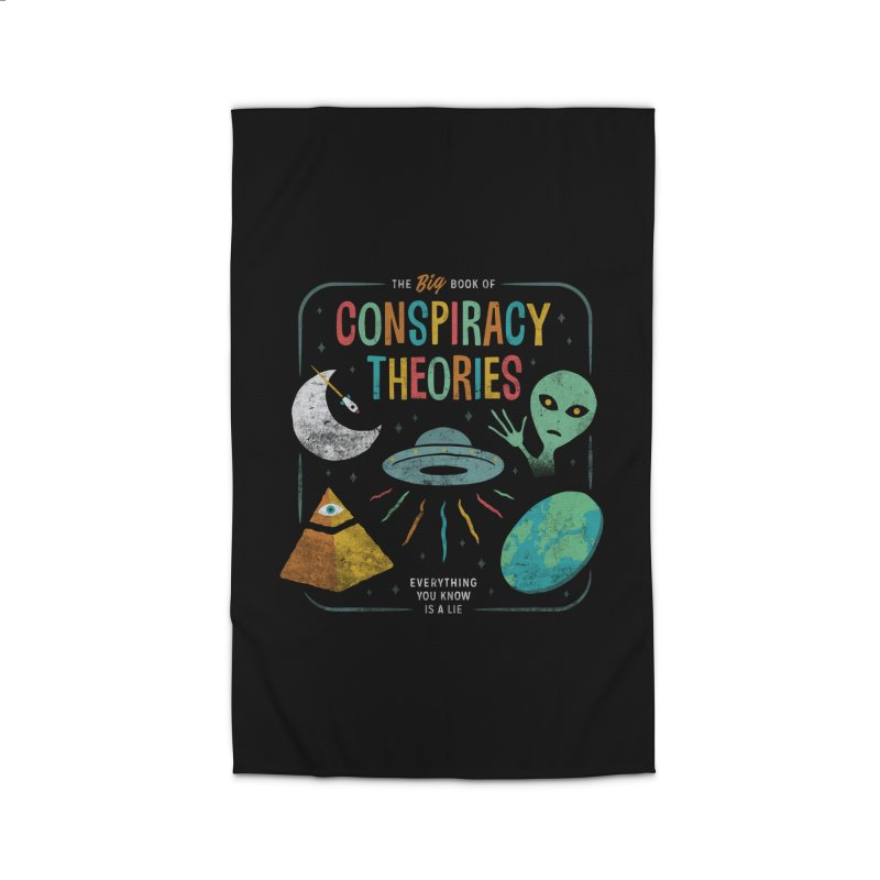 Conspiracy Theories Home Rug by csw