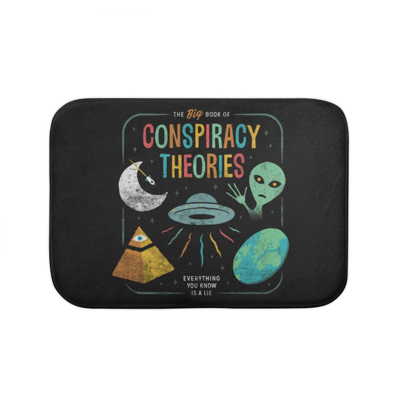 Conspiracy Theories Home Bath Mat by csw