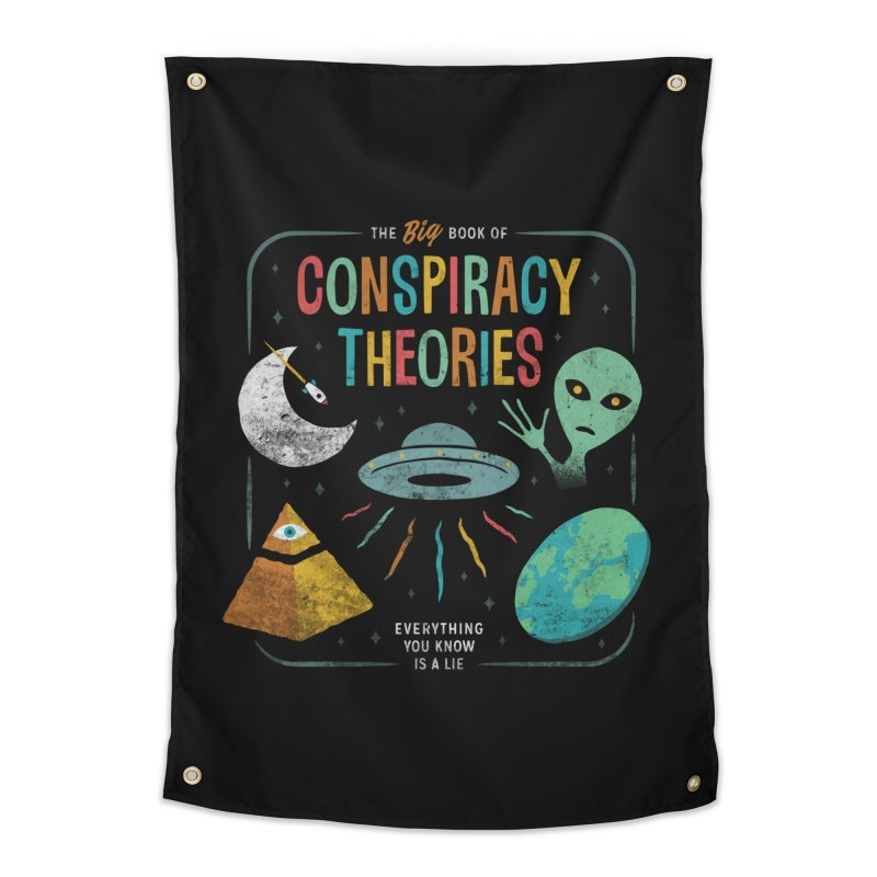 Conspiracy Theories Home Tapestry by csw