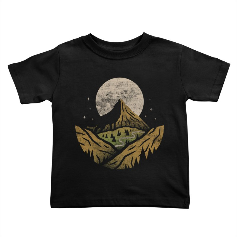 Loner Kids Toddler T-Shirt by csw