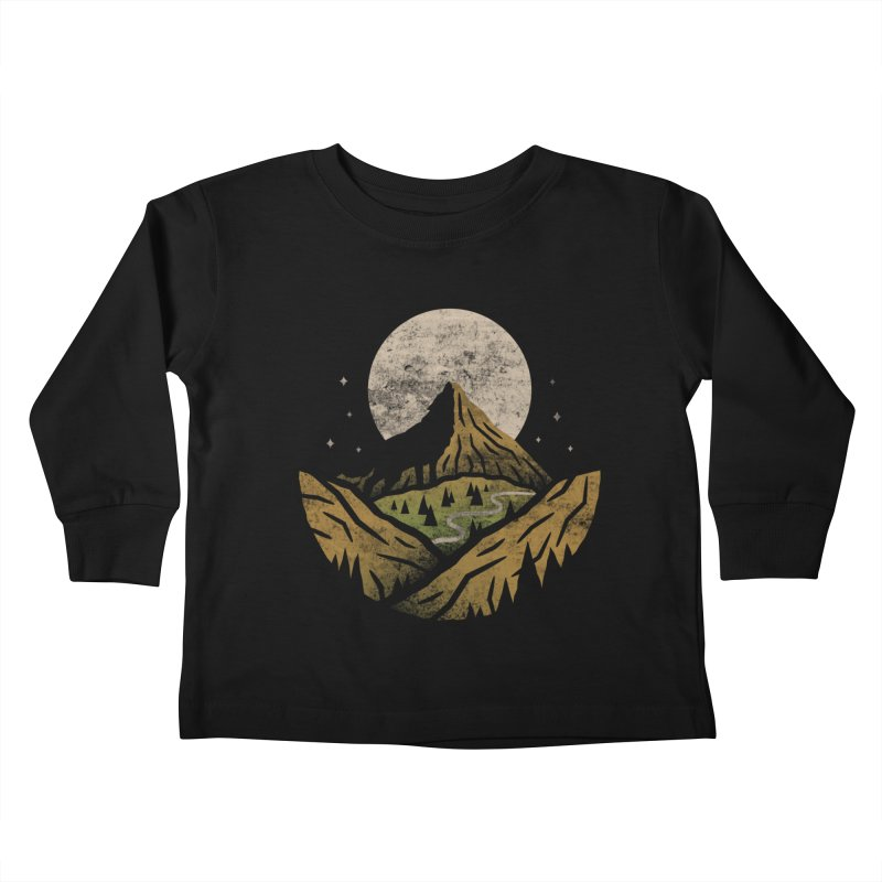 Loner Kids Toddler Longsleeve T-Shirt by csw