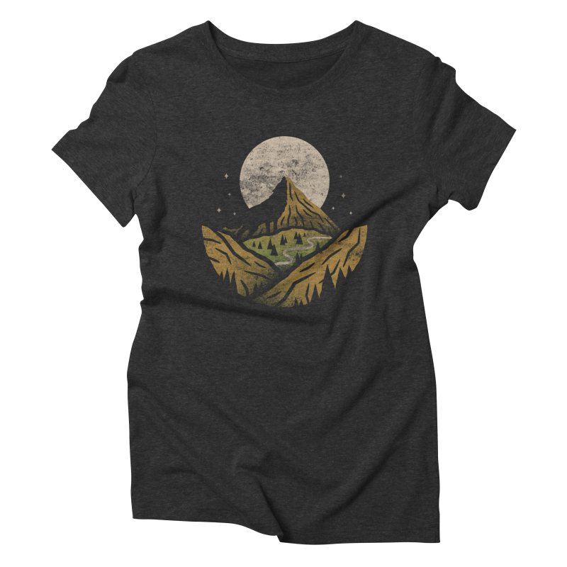 Loner Women's Triblend T-shirt by csw