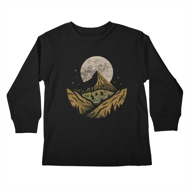 Loner Kids Longsleeve T-Shirt by csw