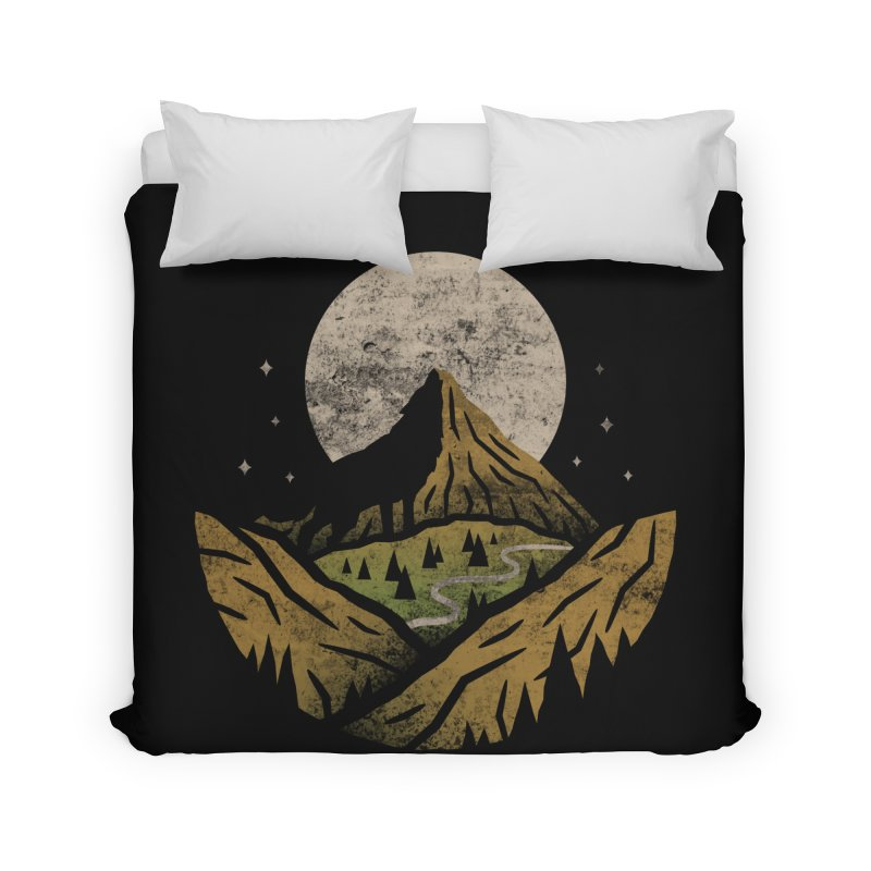 Loner Home Duvet by csw