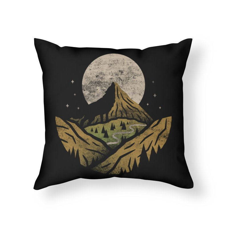 Loner Home Throw Pillow by csw
