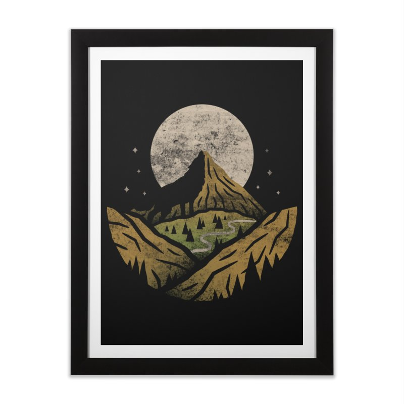 Loner Home Framed Fine Art Print by csw