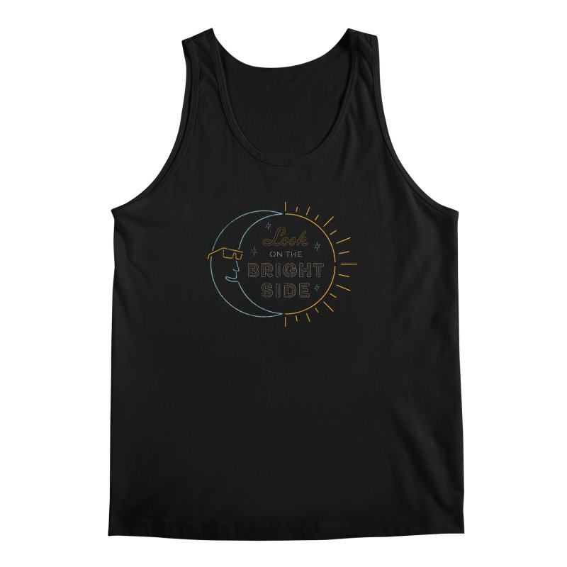 Bright Side Men's Tank by csw