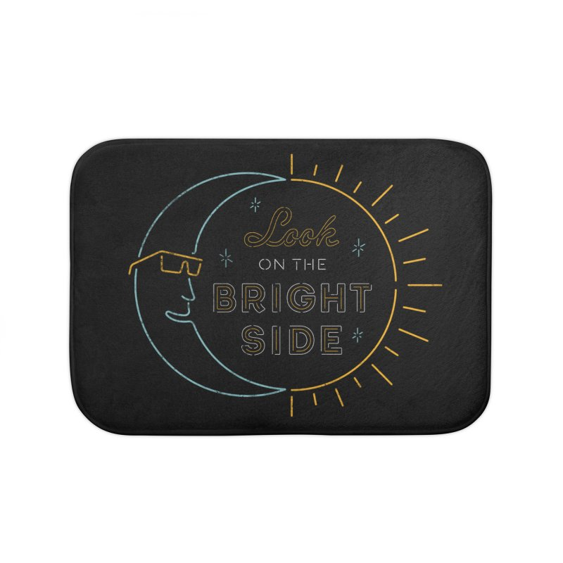Bright Side Home Bath Mat by csw