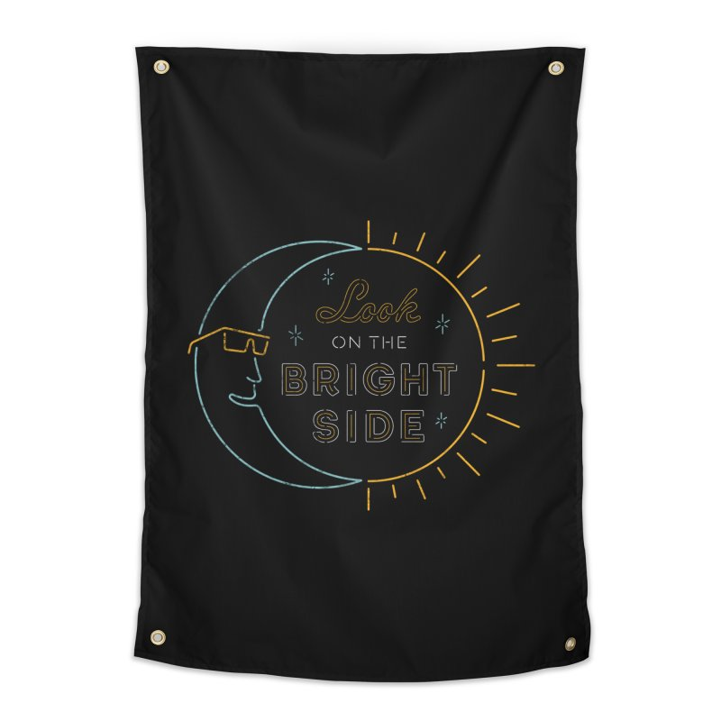 Bright Side Home Tapestry by csw