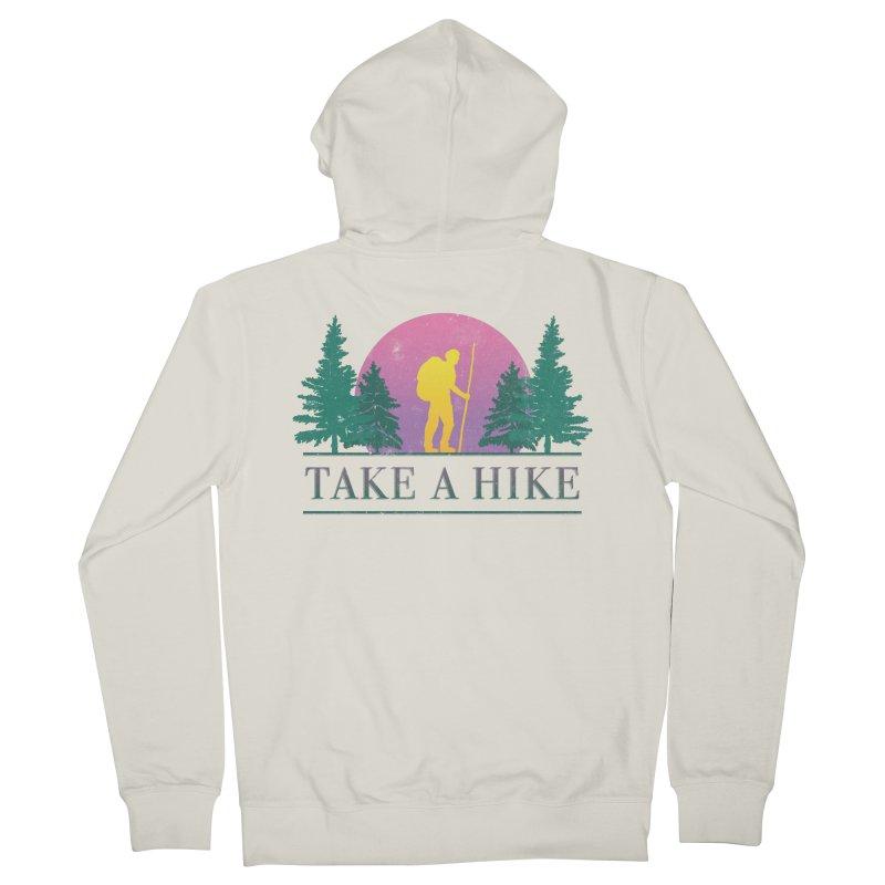 Take a Hike Men's Zip-Up Hoody by Cody Weiler