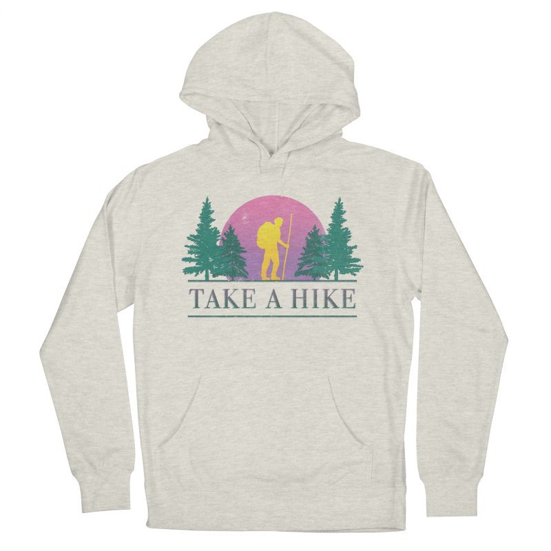 Take a Hike Men's Pullover Hoody by csw
