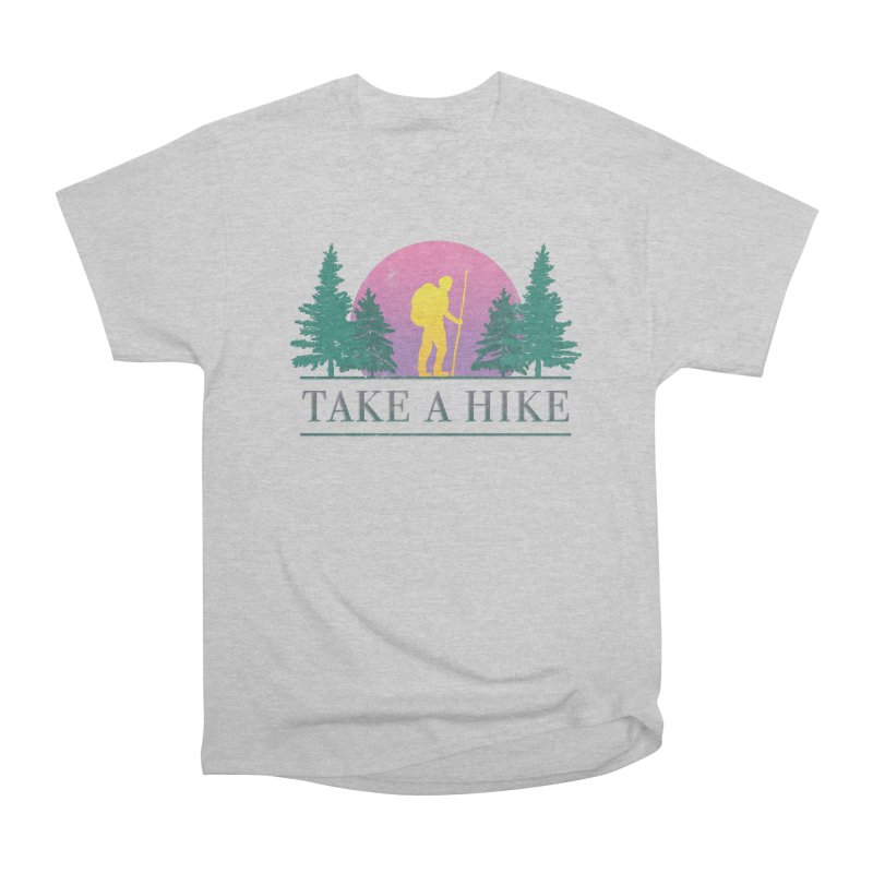 Take a Hike Men's Classic T-Shirt by csw