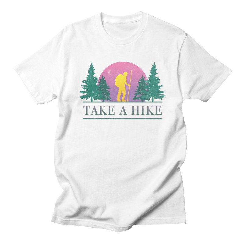 Take a Hike Men's T-shirt by csw